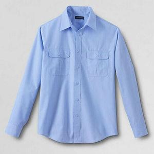 Land's End Men's Outrigger L/S Outdoor Shirt